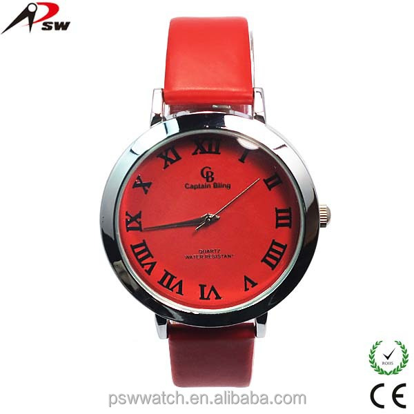 2016 new launched vogue watch for lady fancy watches