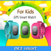 Wrist watch gps tracker device for kids with SOS button GPS GSM positioning Android and iOS app long standby time