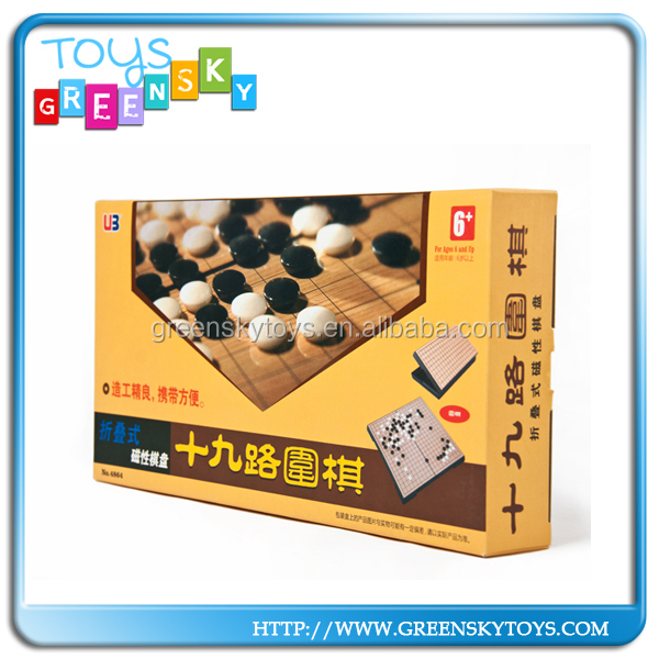 Magnetic Folding 19 Line Standard Go Game Set Go Game Stones