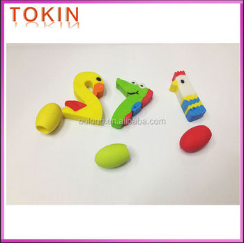 New product novelty erasers for child