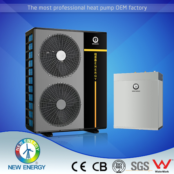 domestic house heating 5kw air to water evi hast pump for traditional radiator heating