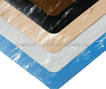 UV- Resistant Colorful Environmentally Marbelize Rubber Flooring Mat