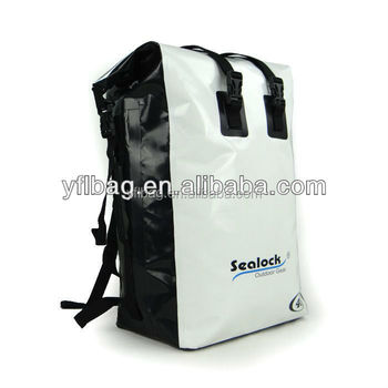 45Liter White strong backpack bag waterproof for camping,traveling