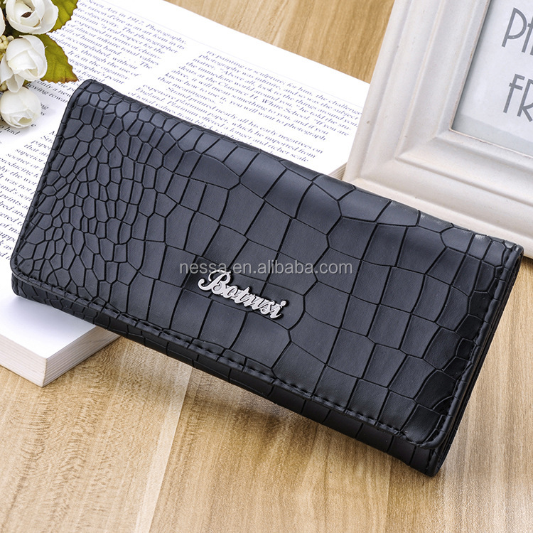 2016 New Arrival 5 Colors Women Wallet Luxury brand Fashion Long wallets High Quality Ladies Clutches Coin Purse AN-p2