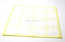 simple-pattern microfiber wood fiber cleaning cloth for cloth mop