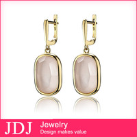 Accept Customized Logo Wedding Jewellery Design Gold Earrings For Young Girls