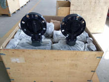 Tianjin valves factory epdm lined lug wafer butterfly valve for plastic irrigation pipe