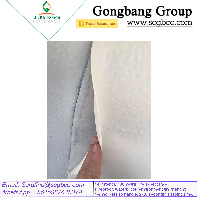 Fireproof Membrane Waterproofing White Wholesale Roofing Shingles 14 Patents for Tunnel