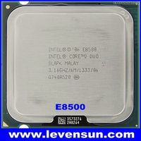 Intel cpu E8500 3.16GHz 6MB SLAPK Core 2 Duo pull clean used cpu processor for desktop