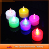 2015 colorful remote led candle light