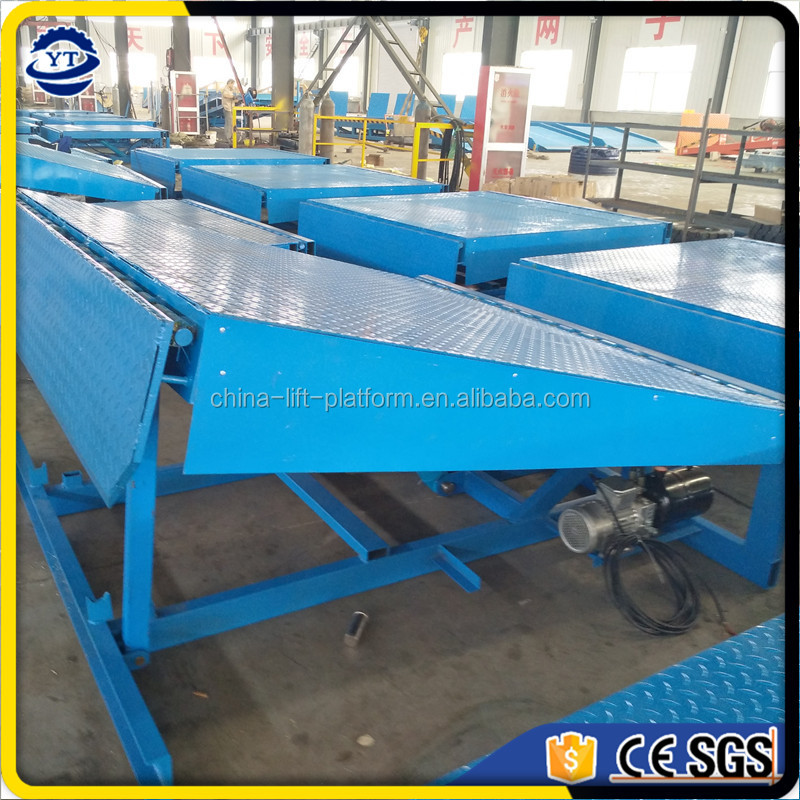 Hot sale hydraulic general industrial equipment container dock leveler ramp