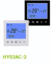 HY03AC LCD Large Color Touch Screen Modbus Thermostat