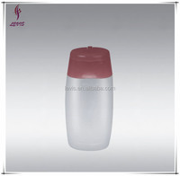 High quantity HDPE empty plastic bottles/shampoo bottle
