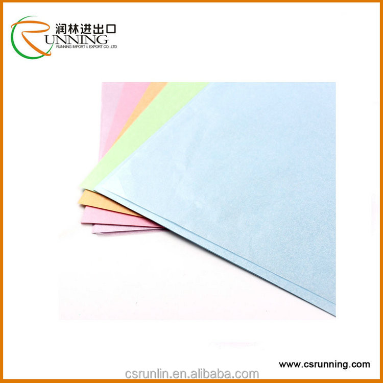 China Wholesale Colorful Pearl Tissue Paper Wrapped Gift