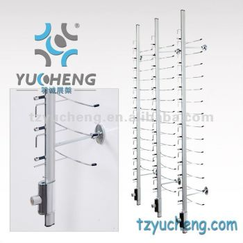 [YUCHENG] lockable sunglass display Y016