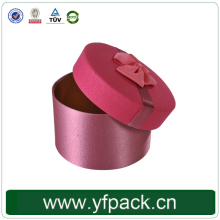 Paper Carton Tube Box Round Cardboard With Lids Luxury Candle Box