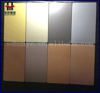 Sand Blasting Stainless Steel Color Decorative Sheets/ Panels
