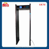 Walk through body temperature scanner , Archway metal detector door
