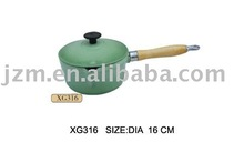 south africa cast iron green enamel cookware