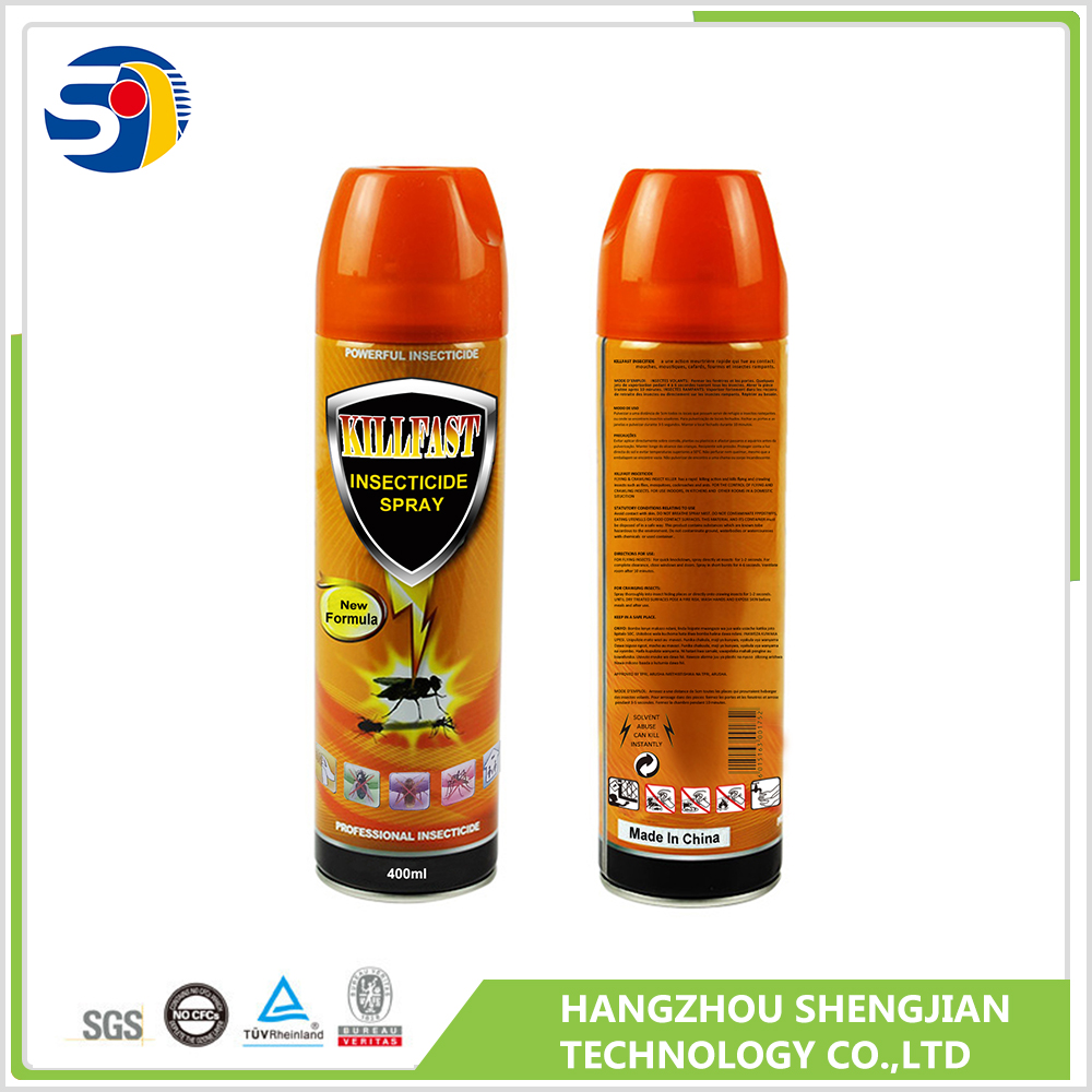 Water base pif paf aerosol insecticide spray with good quality