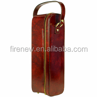 Wine Carrier, Wine Box, Wine bag for single bottle