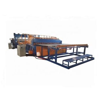 Galvanized steel welded iron wire mesh bending fence machine for construction