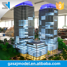 Superior high quality handmade architectural scale model