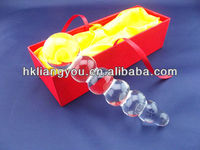 glass sex penis dildo toys for women vagina stimulator GFG-020