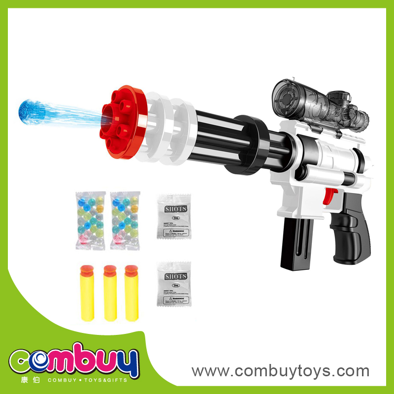 New product plastic soft toy dual purpose electric water bullet gun