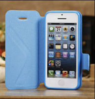 Superior Horizontal Flip PU Leather Protective Case for iPhone 5C