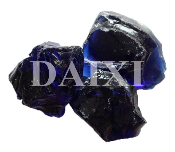 China Decorative Colored Blue Glass Stones