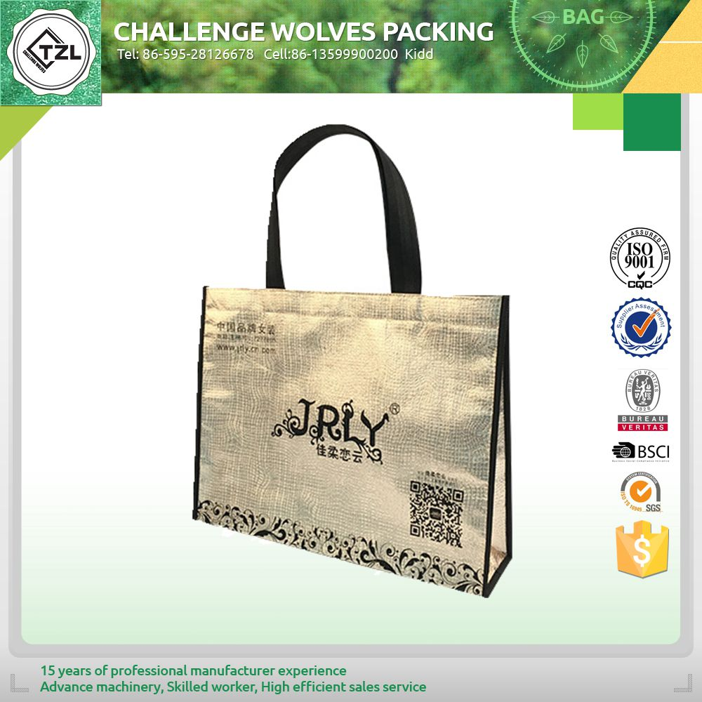 New design waterproof pvc coated tote bag for sale