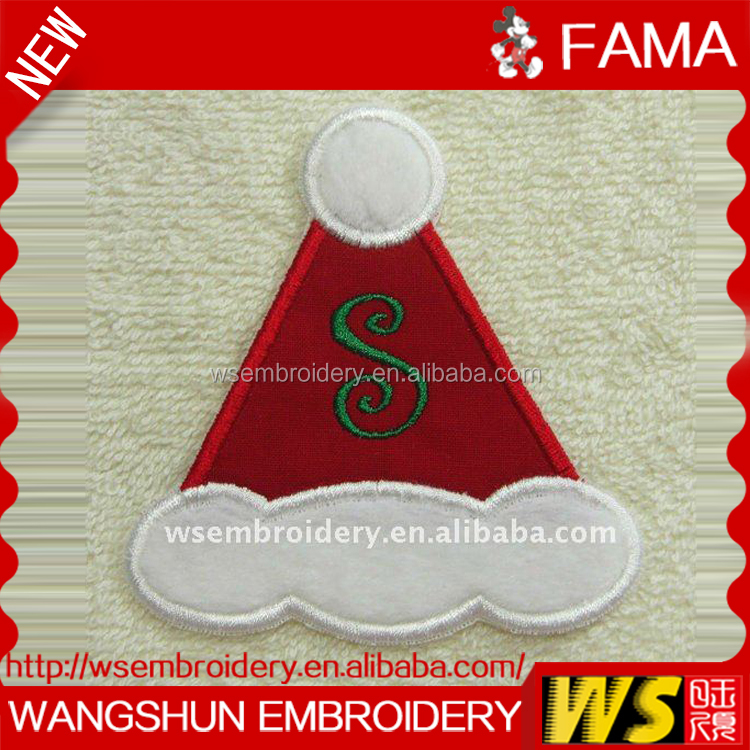Best Selling Products Santa Claus Or Father Christmas Embroidery Patch,Embroidery Badge,Embroidery Patch for Cloth,Shoes