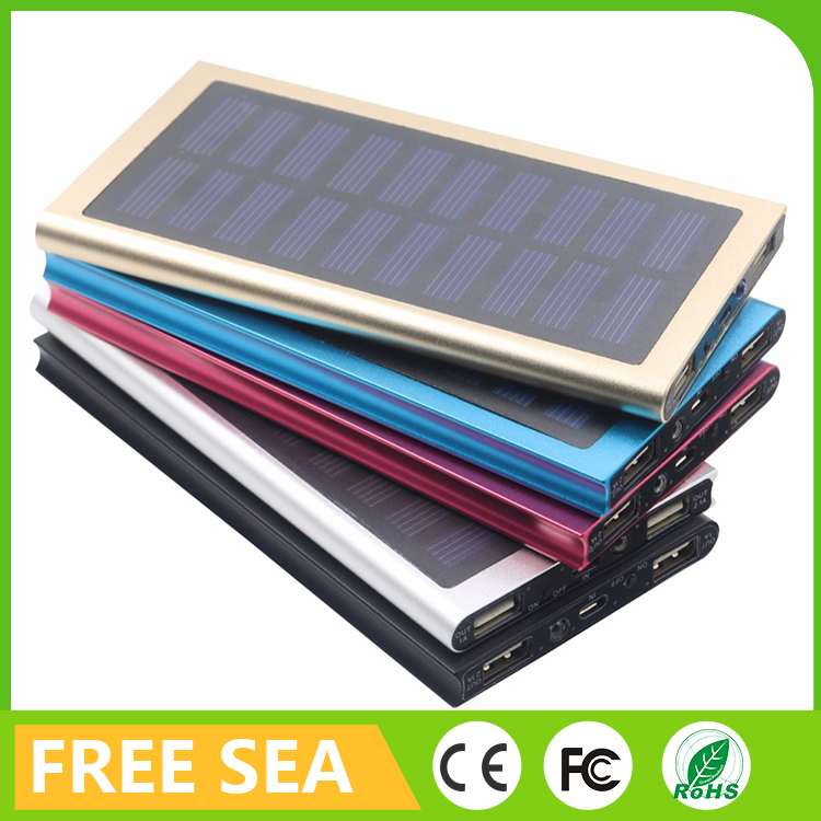 Portable Power Bank 13000mAh Solar Power Banks And SUB Chargers For Camping