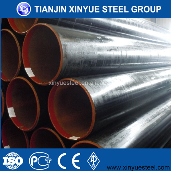 API 5l Grade A, Grade B, X42, X46, X52, X56, X60, X65, X70, X80 ERW steel pipe