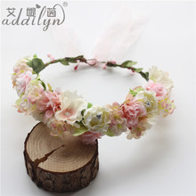 Wholesale Japanese Preserved Flowers Wire Wreath Rings