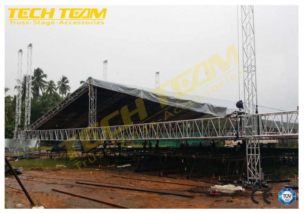 Aluminum Truss Structure For Corporate And Events