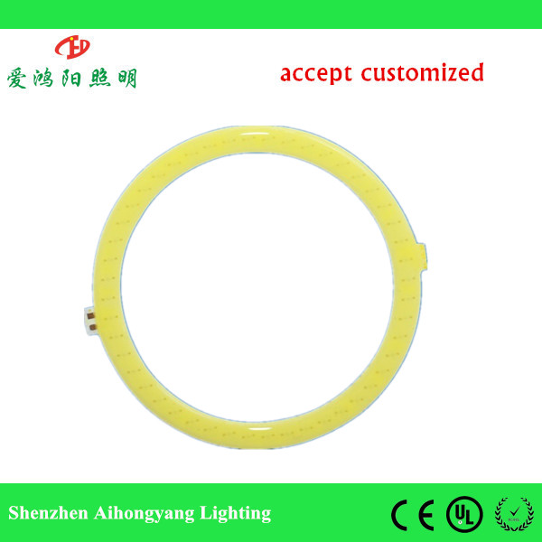 Circle type of Chip on board 8w cob led source for auto BMW motorcycle electric car angle eye light