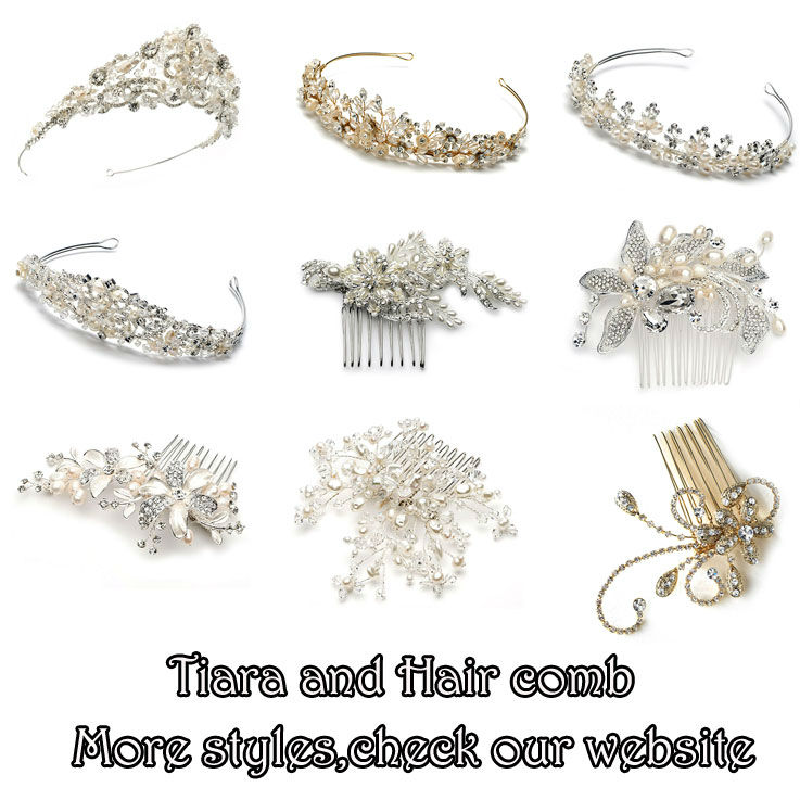 Beach Wedding Theme Popular Rose Gold Wedding Headpieces Hair Vine Bridal Halo Flower Jewellery