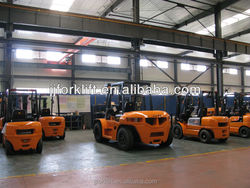 Diesel Forklift truck CPCD70 used truck seats for sale