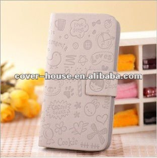 Magic Girl Leather Case for Apple iPhone5 5G,for iphone5 5G horizontal magic girl PU leather case,PayPal & OEM