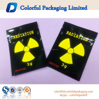 High quality 3g Radiation Pot-pourrie Ziplock Pouch