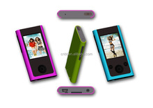 "2017 hot sale cheap mini MP4 player with 1.8"" TFT Screen and mp4 download hindi video songs"