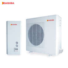 HeatingCooling &floor heating& Hot water Multifunction air to water split heat pump R407C can work together with solar collector