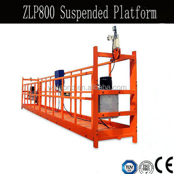 Temporary Suspended Working Platform Swing Stage