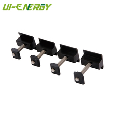 Wholesale cheap black anodized aluminum mid clamp solar