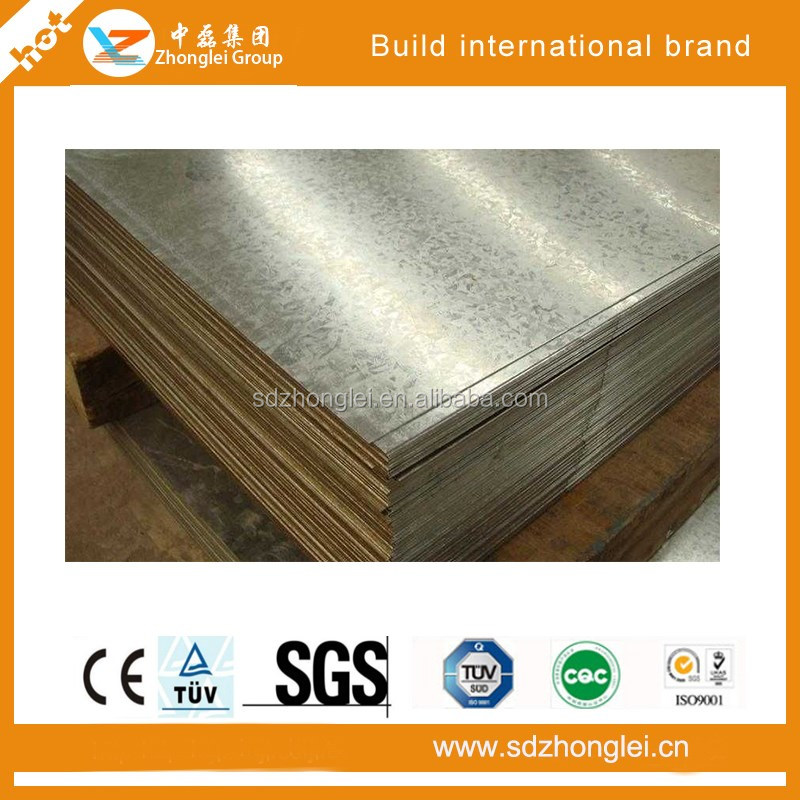 800 mm x 0.45 mm thick steel sheet Structure
