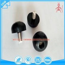Rubber damping adjust feet for furniture
