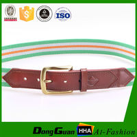 fashionmale Pure cotton Polyester Spun Polyester Tetoron Material Fashion Fabric Woven Belt