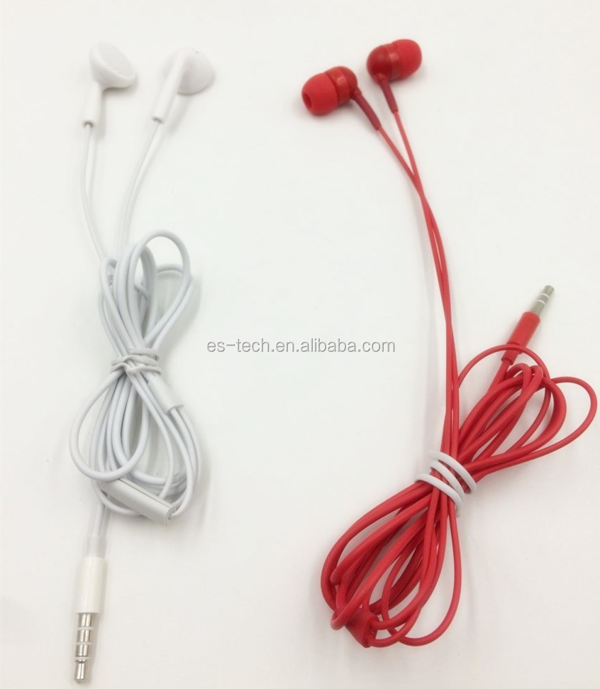 hands free colorful mobile phone earphone 3.5mm handfree phone headset